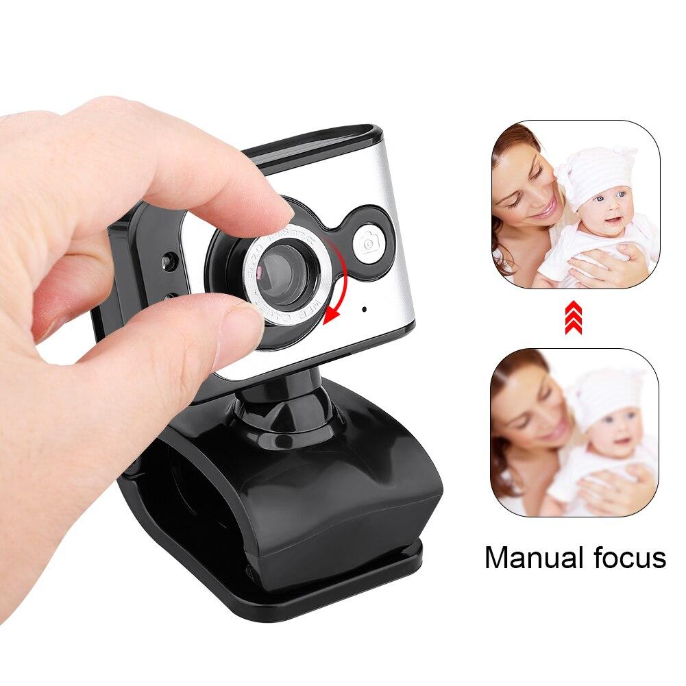 Usb 20 веб камера 640x480 видео Запись hd Веб с микрофоном для