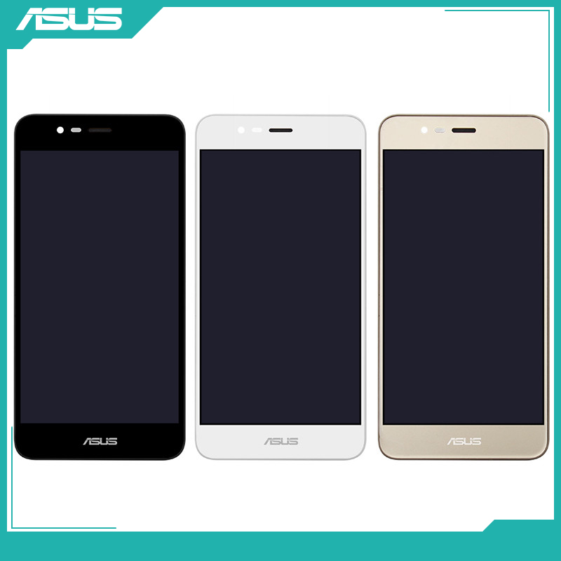 Original <font><b>Asus</b></font> LCD Display Touch <font><b>Screen</b></font> Digitizer Assembly <font><b>Replacement</b></font> Part For <font><b>Asus</b></font> <font><b>Zenfone</b></font> <font><b>3</b></font> <font><b>Max</b></font> <font><b>ZC520TL</b></font> X008D 5.2