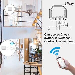 Image 4 - DIY สมาร์ท WIFI LED Dimmer SWITCH Smart Life/Tuya APP รีโมทคอนโทรล 1/2 สวิตช์ทำงานร่วมกับ Alexa Echo หน้าแรกของ Google