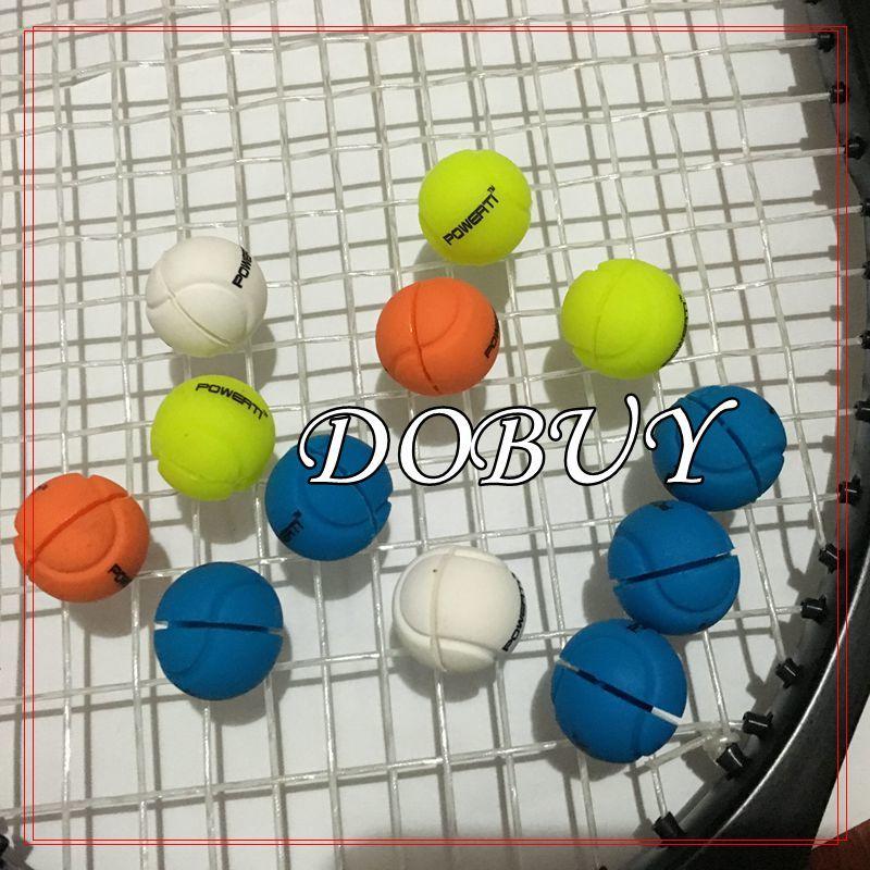 20 Pcs PT Balls Tennis Racket Damper Shock Absorber Tenis Racquet Vibration Dampener Reduce Tennis Raqueta Shock
