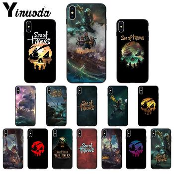 Yinuoda Sea of Thieves High Quality Phone Case for iPhone 11 pro XS MAX 8 7 6 6S Plus X 5 5S SE XR SE2020 image