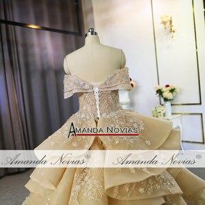 Image 4 - Luksusowa suknia ślubna w dubaju 100% prawdziwa praca