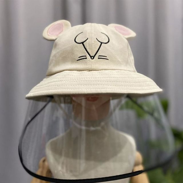 Child Anti-saliva Dust-proof Full Face Protective Cover Mask Visor Shield 4