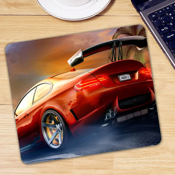 Boy Gift Car Printed Mousepad Computer Gaming Mause Mouse Pad Non-slip Rubber Small Size Office Laptop Desk Mice Mat image