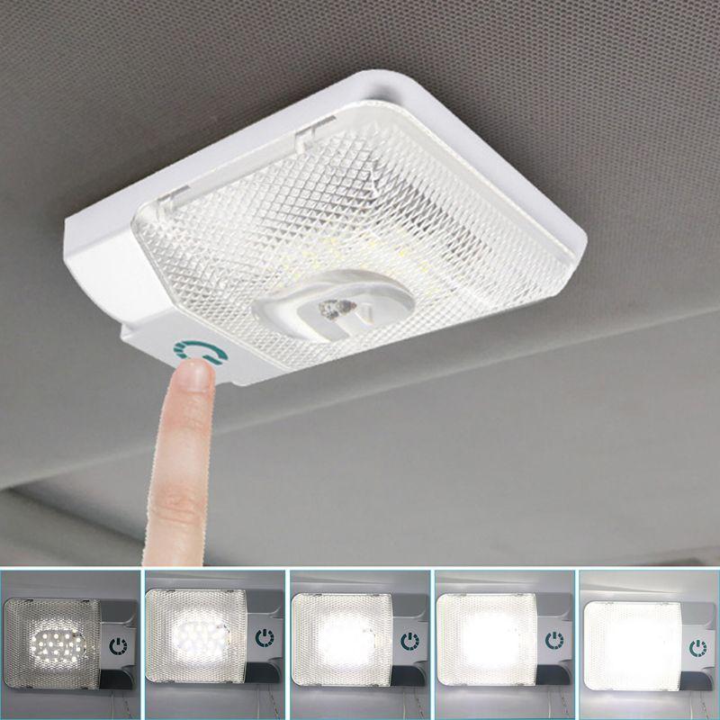 12 v led rv teto dome luz rv interior iluminação luzes do reboque para campista rv
