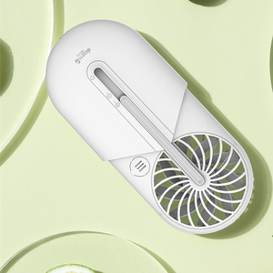 Image 3 - Deerma Ventilador portátil de mano con aromaterapia, Ventilador Ultra silencioso portátil para verano
