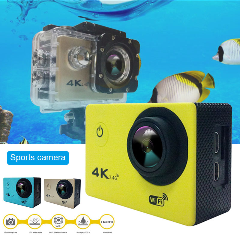 2019 Wholesale Full HD Waterproof Camera with 170 Degree Wide-angle Lens Support Time-lapse Photo H-best image