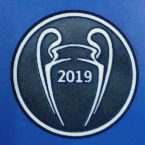 2019 2020 Final UEFA Champions League Patch En Respect Starball Badge En 5 6 Tijd Cup Warmteoverdracht Patch Voor M. salah Manen Final Game