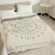 Microfine ponderada cobertores cama sofá viagem para baixo cobertor grande lance macio cobertor para