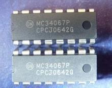 Free Delivery. <font><b>MC34067P</b></font> into LCD power management IC chip components image