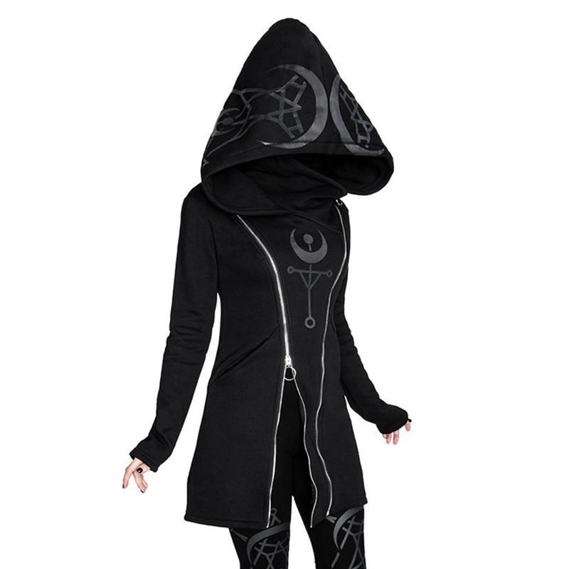 Aesthetic Black Cloak Hoodie