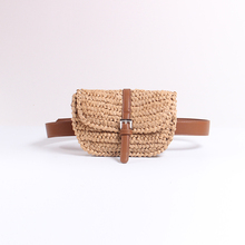 Caker Brand Women Half Circle Straw Bags Waist Fanny Summer Pack Khaki Colorful Wholesale Dropshipping