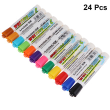 2 Boxes/24PCS Erasable Marker Pens Whiteboard Pens Writing and Drawing Pens for Whiteboard School Office