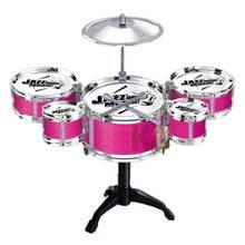 Детский мини джазовый барабан набор детский музыкальный развивающий
