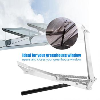 Automatyczne otwieranie okien słonecznych wrażliwe na ciepło słoneczne szklarnia automatyczny otwieracz do okien automatyczny otwieracz do okien z pojedynczy wiosenny tanie i dobre opinie WALFRONT CN (pochodzenie) Other Greenhouse Window Opener Metal Greenhouse Autovent