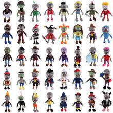 41 estilo 40cm1pcs plantas vs zumbis brinquedos de pelúcia plantas vs zumbis pvz zombies macio pelúcia brinquedos boneca figura do jogo de brinquedo para