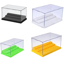 2019 New 1pcs Case Box Dustproof display box loz Building Blocks bricks ToysCompatible Acrylic Plastic Action figures  Display недорого