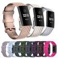 Высококачественный ремешок для часов Fitbit Charge 4, спортивные ремешки для часов, силиконовый браслет для Fitbit Charge 3/3 SE, аксессуары
