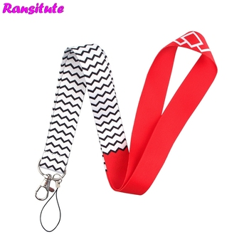 20pcs/set Personality Lanyard ID Card Lanyard Key Mobile Phone Lanyard DIY ID Lanyard Neckband Accessories Decorative R616x20 фото