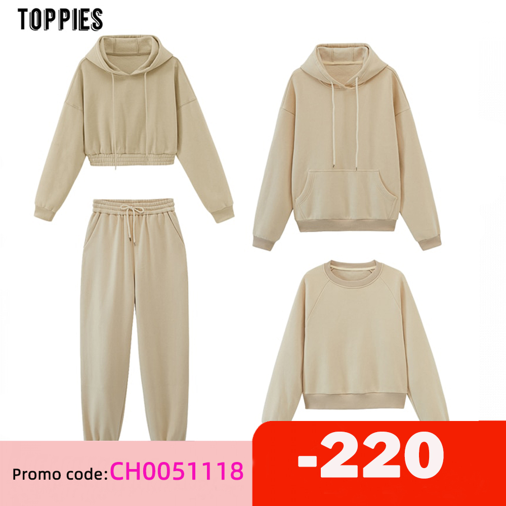 toppies womens tracksuits hooded sweatshirts 2020 autumn winter fleece oversize hoodies solid color jackets|Hoodies & Sweatshirts| - AliExpress