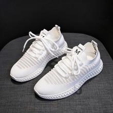 Europa Frauen Schuhe Bequem Mode Casual Schuhe Frau Atmungsaktive Turnschuhe Frauen Weiche Freizeit Schuhe Zapatillas Muier W04