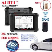 Autel Maxisys MS906BT ECU Mã Hóa Máy Tính Bảng Máy Quét Tự Động Công Cụ Chẩn Đoán OBD2 Quét Tất Cả Các Hệ Thống Chẩn Đoán 31 Dịch Vụ Hoạt Động Thử Nghiệm