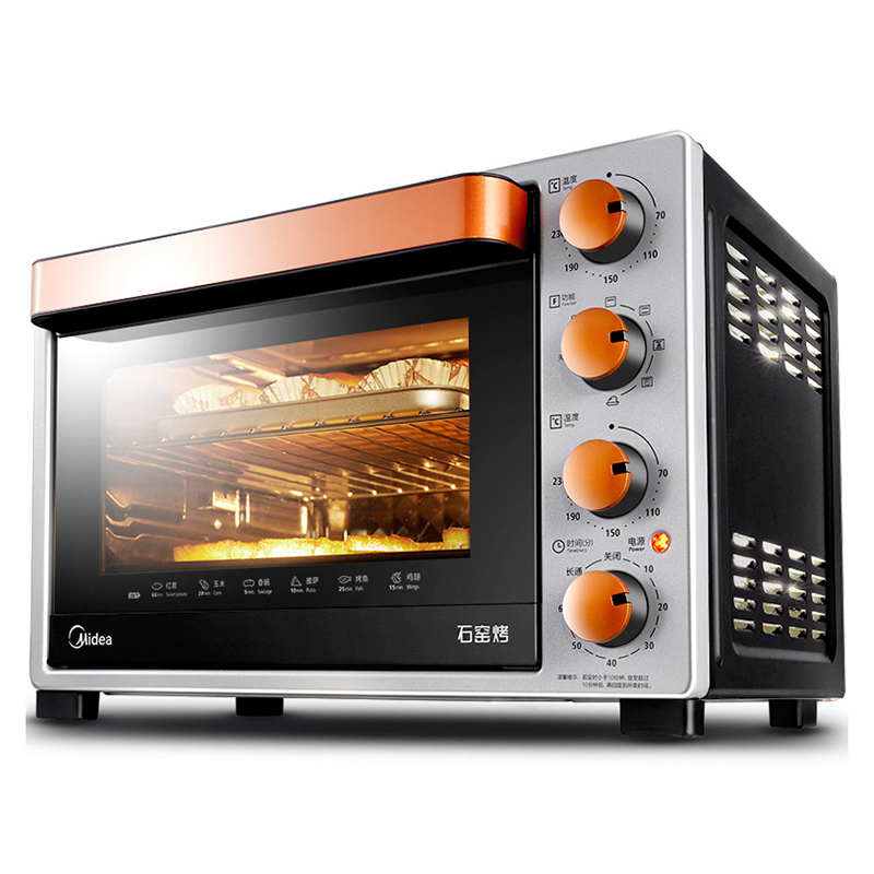 32L Multifunctional Household Electric Oven Mechanical Timer Control Baking Toaster Pizza Bread Baking Kitchen Tools T3-L324D