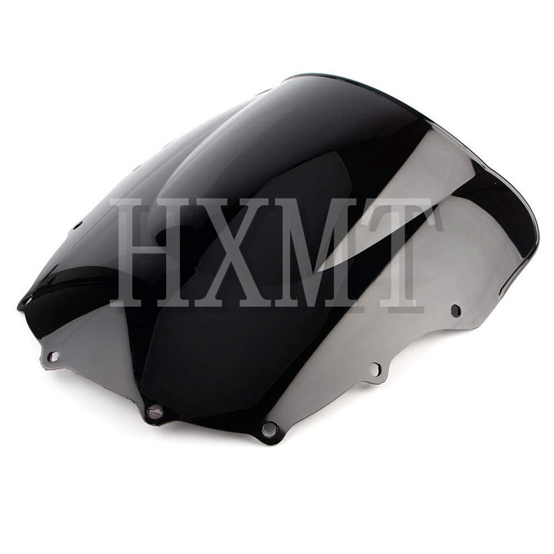 Image 3 - For Kawasaki ZZR400 ZZR600 ZZR 400 ZZR 600 1993 2007 1993 1994 1995 1996 1997 1998 1999 2000 black Windshield WindScreen-in Windscreens & Wind Deflectors from Automobiles & Motorcycles