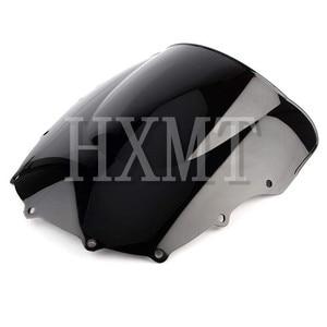 Image 3 - For Kawasaki ZZR400 ZZR600 ZZR 400 ZZR 600 1993 2007 1993 1994 1995 1996 1997 1998 1999 2000 black Windshield WindScreen