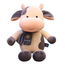 Популярная Новая симпатичная мягкая плюшевая игрушка из коровьей
