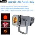 300 Вт стробоскоп с узором 2в1 светильник с эффектом логотипа светодиодный светильник с фокусом Высокая мощность DJ диско-проектор с зумом для ...