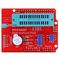 AVR ISP Bootloader Shield Burning Programmer for Atmega328P Bootloader module with buzzer and LED indicator for Arduino UNO R3