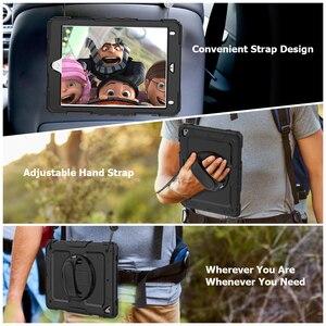 Image 5 - กันกระแทกสำหรับ Apple Ipad 9.7 2018 2017 5th 6th Generation COVER Funda มือสายคล้องไหล่ดินสอสำหรับ iPad 9.7 กรณี