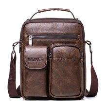 WENYUJH мужские кожаные сумки через плечо роскошные мужские сумки-мессенджеры винтажные кожаные красивые сумки через плечо Прямая поставка