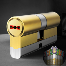 Super C-class brass lock cylinder 54 blade 12pcs keys Double milling 32 Track 8 slot anti violence and technical unlocking