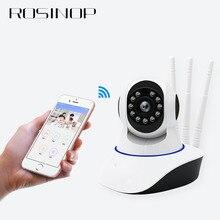 Rosinop 3 Antennas onvif Infrared IP camera wifi CCTV kamera Home Security 1080P PTZ camara de vigilancia Wireless App mini cam
