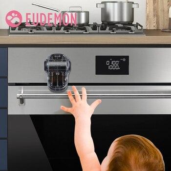 EUDEMON-Cierre de horno para bebés, nuevo diseño, evita que el bebé juegue con puertas de horno, Tope de puerta de horno de seguridad para niños