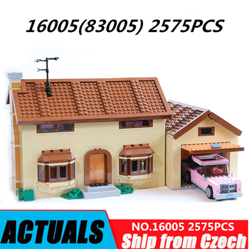 Lepin blocks 16005 16004 Movie Toys City Lepining Creator Kwik-E-Mart King Friend House Building Blocks Bricks 71006 71016 Kids 1