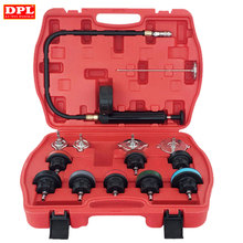 Universal Automotive Radiator Pressure Tester Kit 14PCS Car Leak Detector tool A