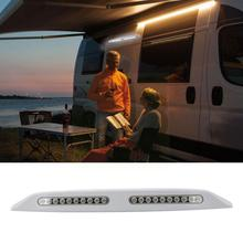 12V 20 LED RV Camper Trailer Awning Light Marine Caravan And High Radiation Temperature Low Resistance Camping Exterior No A1P9