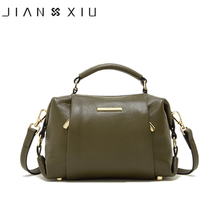 JIANXIU Brand Genuine Leather Handbag Luxury Handbags Women Bags