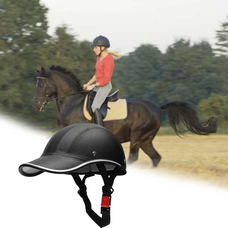 Unisex Adultos Equestre Capacete Equitação Capacete De Segurança Esportes Preto Equipamento Ao Ar Livre Ciclismo Cabeça Guarda C