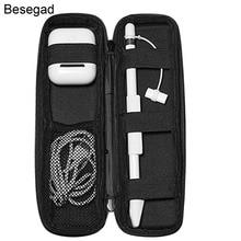 Besegad защитный чехол для хранения, кожаный чехол, для iPad Pro 9,7, 10. 5 Ipencil Apple Pencil, аксессуары для airpods, гаджеты