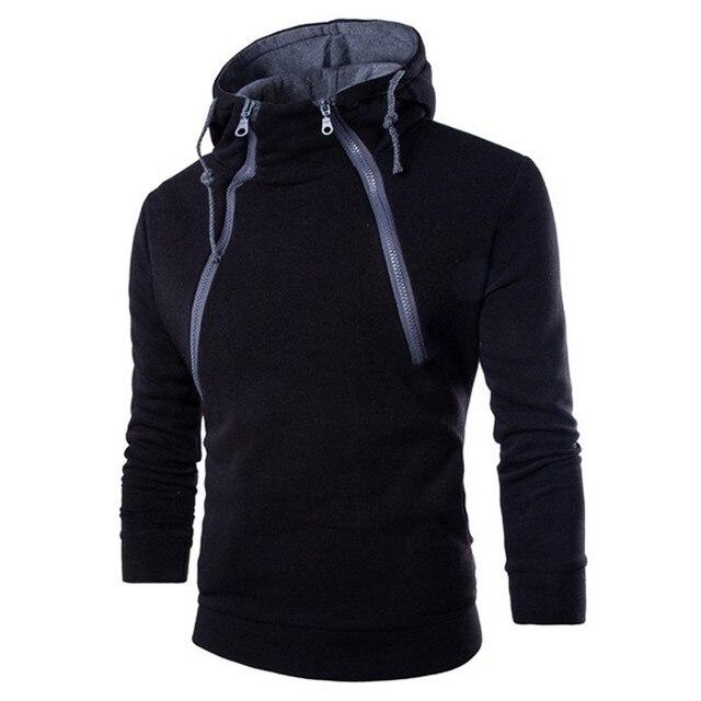 JAYCOSIN Hoodies Men's Autumn Long Sleeve Patchwork Hoodie Hooded Sweatshirt Top Tee Outwear Blouse Warm Sweatshirts Jacket Jun1 3