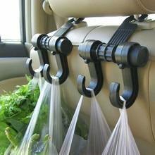 2 шт. х автомобильные крючки на заднее сиденье, органайзер на багажник, подголовник, сумка для покупок, пальто, крючок для склада аксессуары для грузовиков