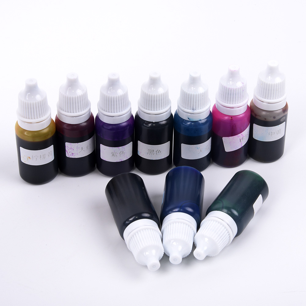 Pro~10ml Translucent Pigments For Clear Casting Resin Epoxy&Polyester Colour Dye