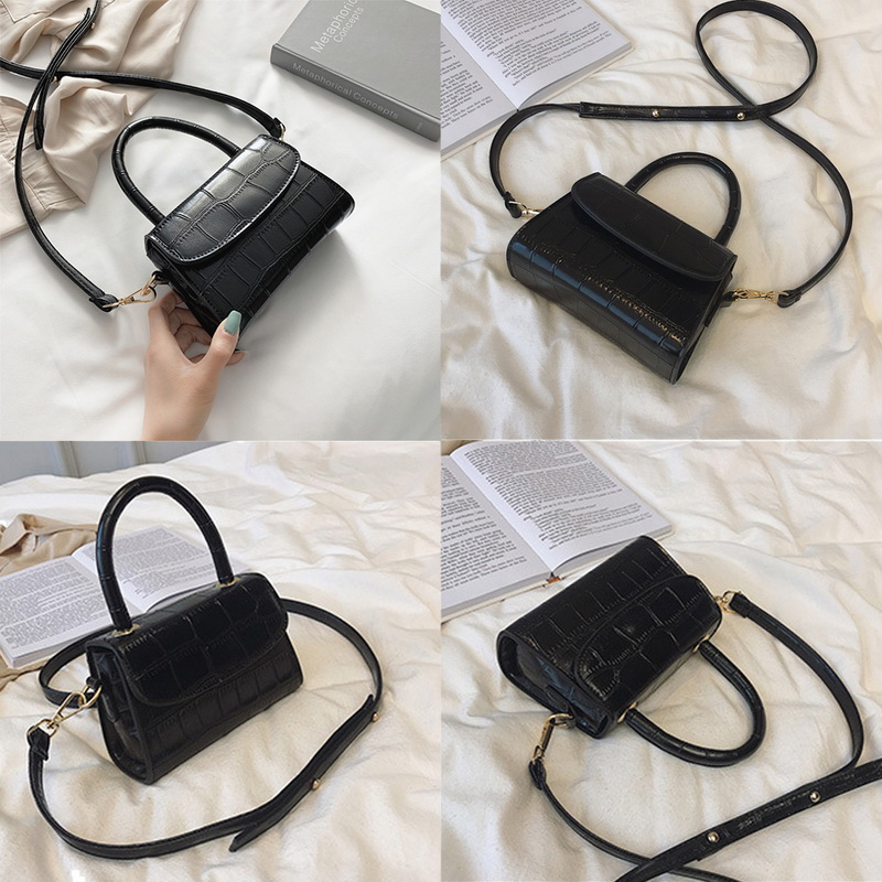 H4088474f7b4d4e56b6118031bbb403adw - New Women Shoulder Messenger Bag Ladies Handbags Casual Solid PU Leather Handbag Fashion Ladies Party Handbags Clutch