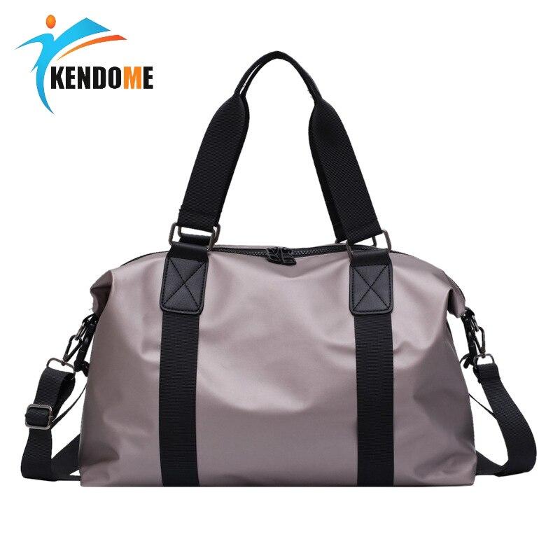Women Sport Fitness Bag Men Gym Training Shoulder Bag Travel Luggage Handbag Multi-functional Waterproof Nylon Sac De Sport