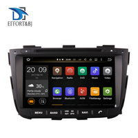 4G+64G android 9.0 car dvd for kia sorento 2013 2014 car radio gps navigation with steering wheel control camera Tape recorder