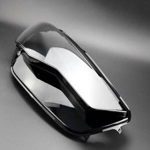 Image 5 - Прозрачная стеклянная маска для передних фар Audi A6L C7 PA 2016 2018